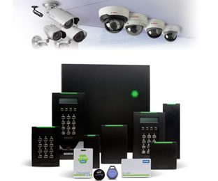 Access Control, Security Cameras, HID Card Readers